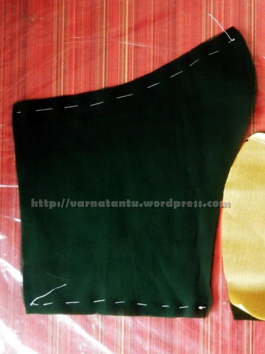 Stitching A Princess Line Blouse (6/6)