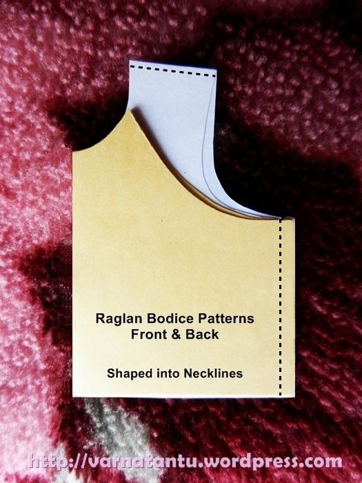 How To Make Raglan Bodice & Raglan Sleeves? (2/6)
