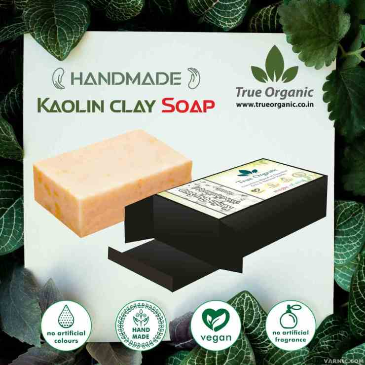 True Organic Kaolin Clay Soap
