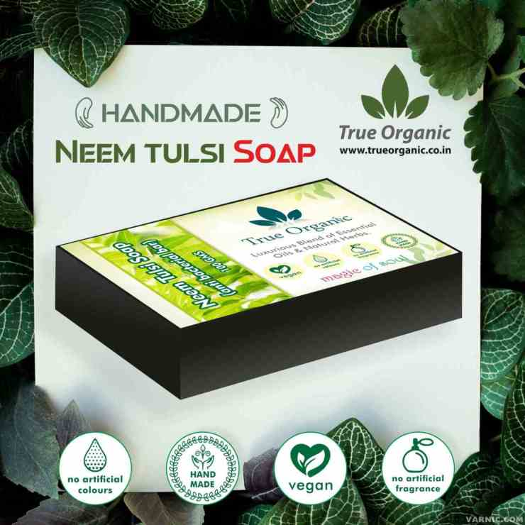 True Organic Neem Tulsi Soap