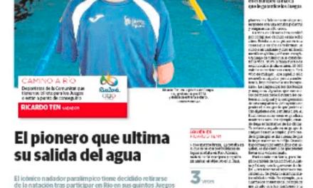RICARDO TEN dejará la natación después de los JUEGOS DE RÍO 2016