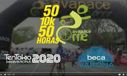 VIDEO  LA BECA VARONA CORRE CON AVAPACE