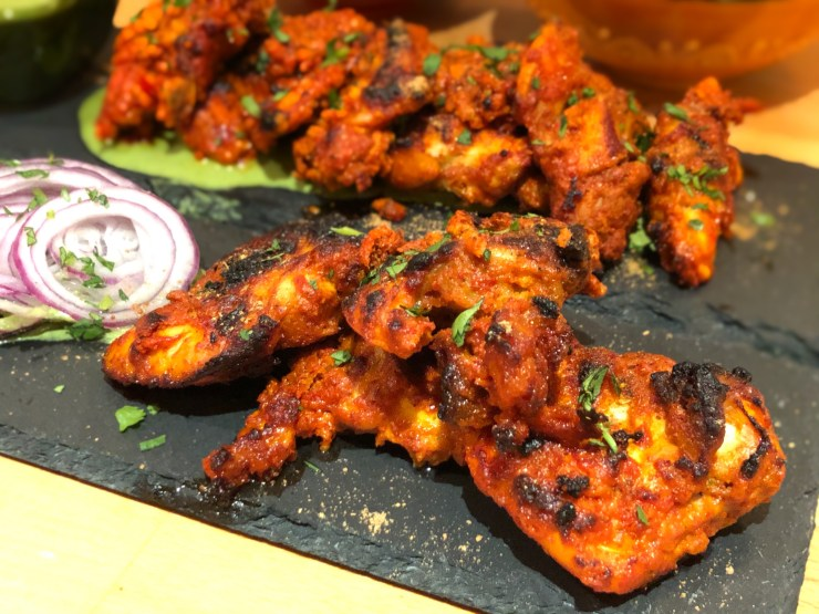 Chicken Tikka different angle