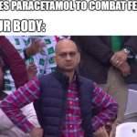 Paracetamol for fever