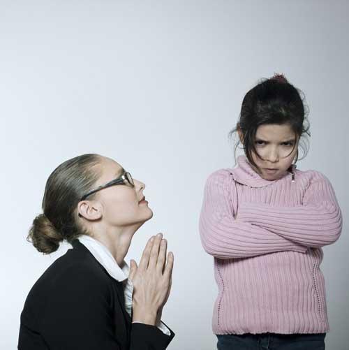 Begging parent