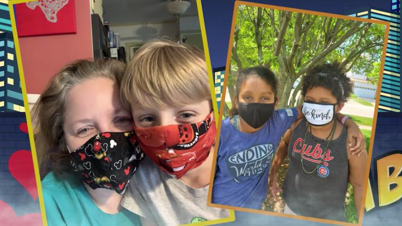 Πώς το παιδί να φορέσει μάσκα