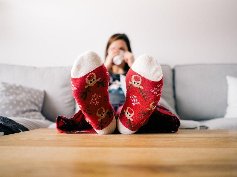 μόνη τα Χριστούγεννα