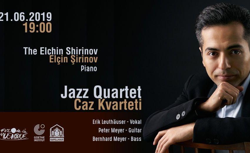 """Elçin Şirinov – """"Caz Kvarteti"""""""