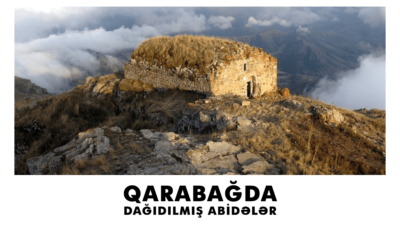 Violated monuments in Karabakh