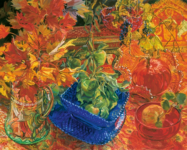 Janet Fish: Pinwheels and Poppies