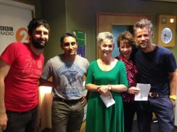 On BBC Drivetime radio hosted by Richard Bacon
