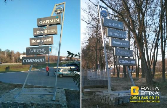 Київ, ціна виготовлення рекламної стели