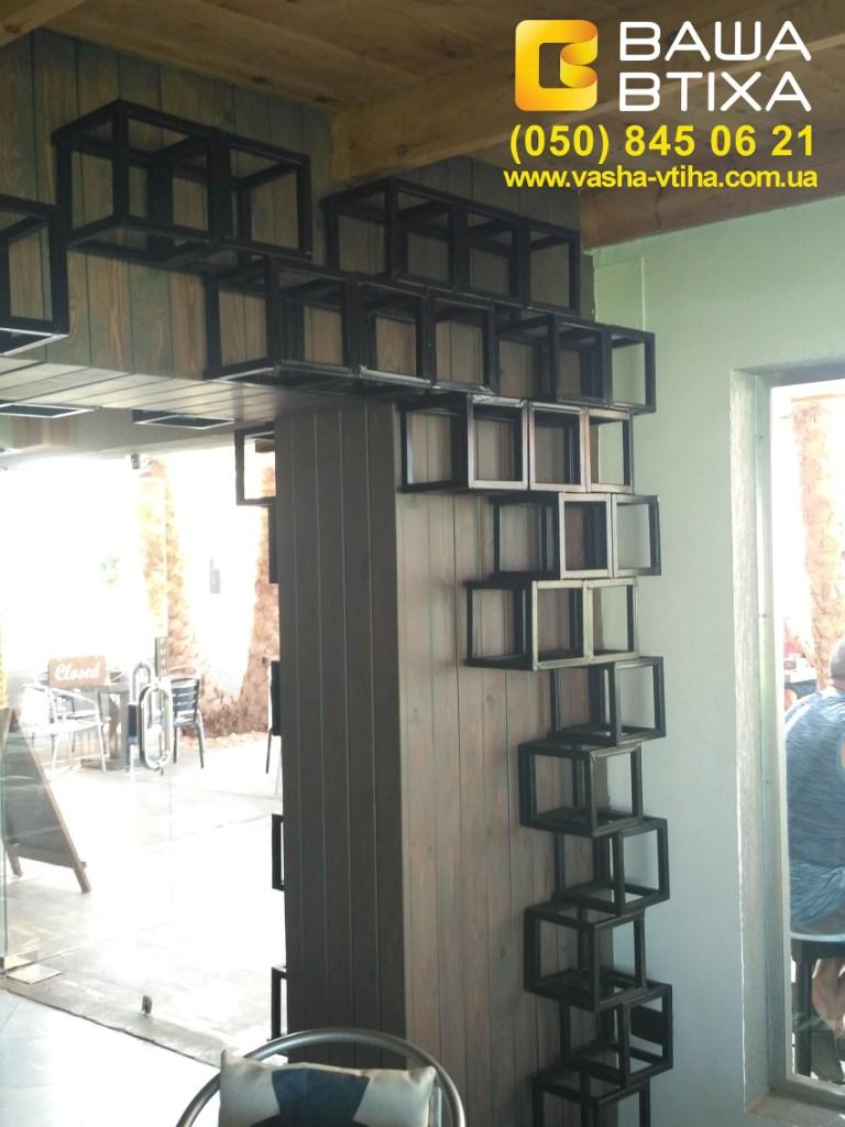 Оформление баров Киев: изготовление декоративных и функциональных элементов интерьера