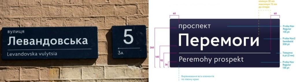 Замовити адресні покажчики з назвою вулиці та будинку