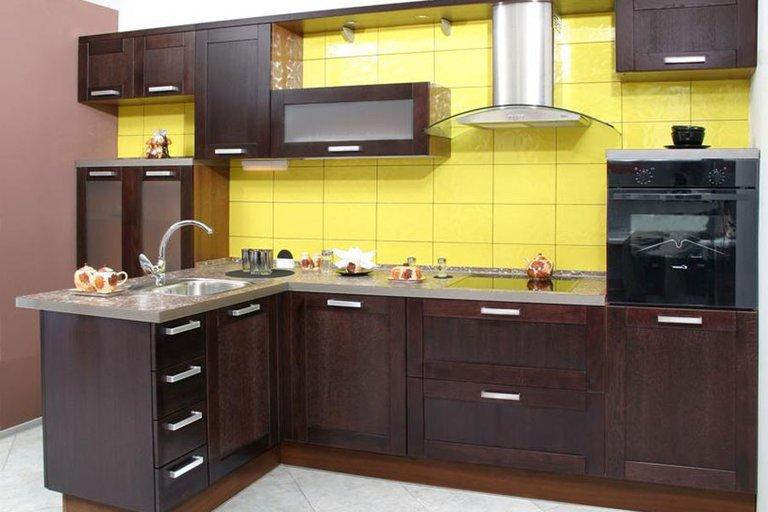 кухня венге дизайн сочетание цветов 1