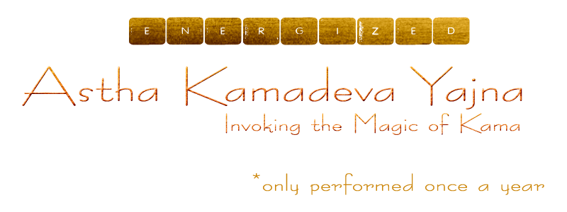 Invoking the 8 forms of Kamadeva