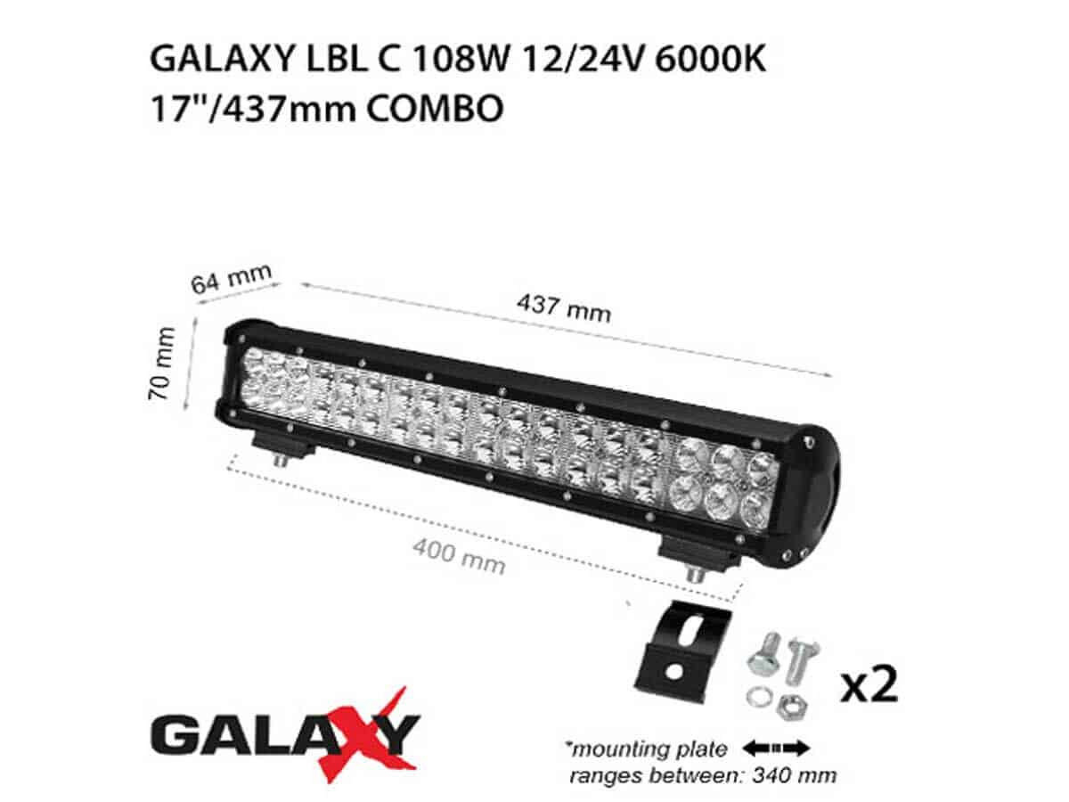 LED BARS LBL C-108W