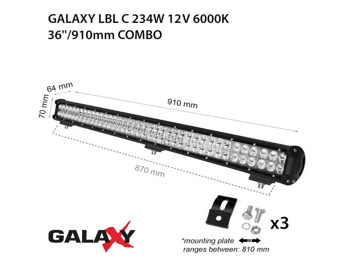 LED BARS LBL C-234W