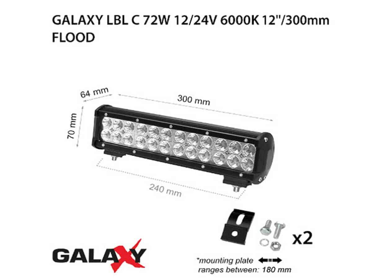 LED BARS LBL C-72W