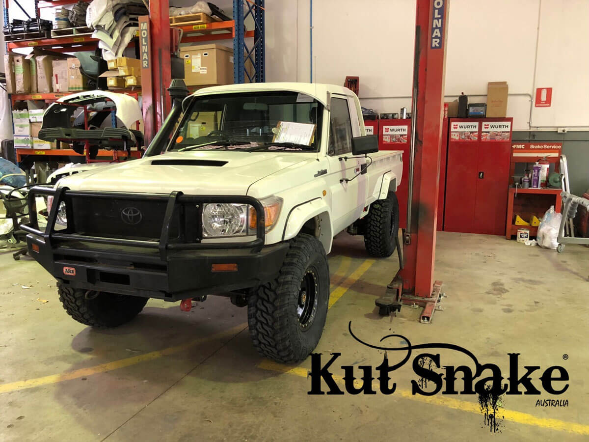 уширители kut snake Toyota Land Cruiser 79 Pick-up 2007