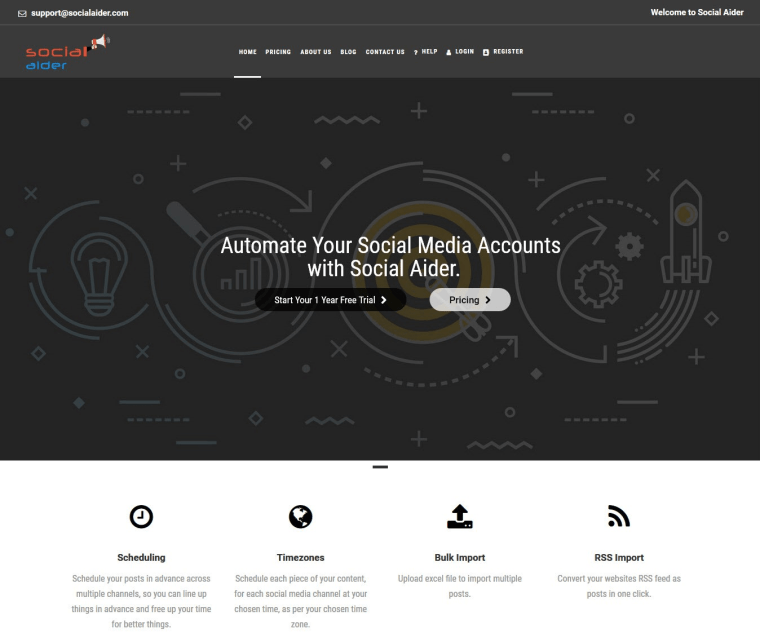 Home SocialAider