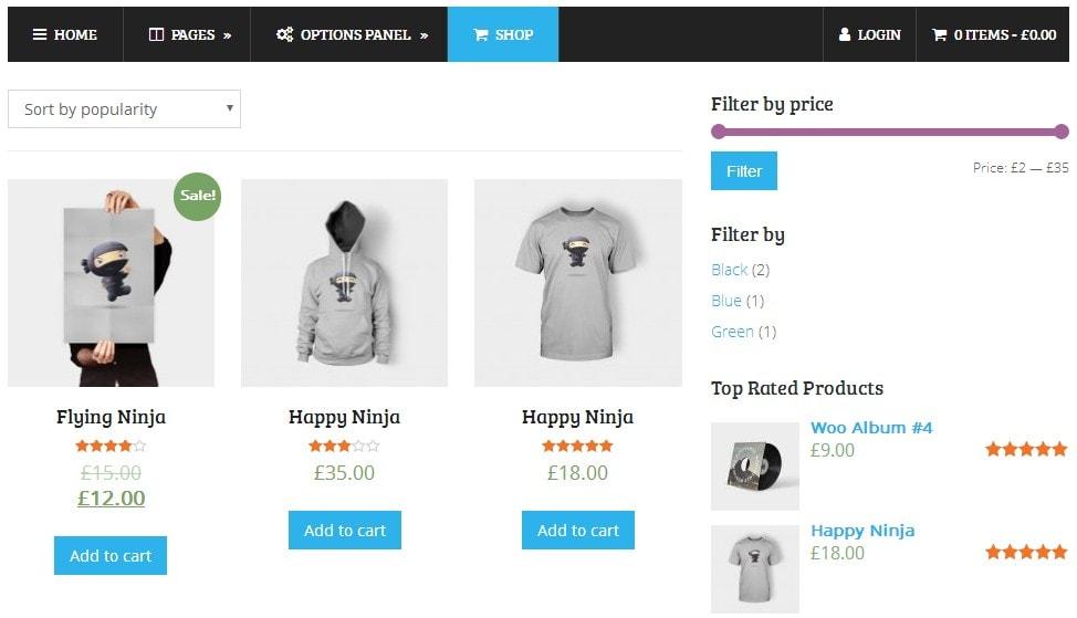 Splash Blogging eCommerce WordPress Theme Review