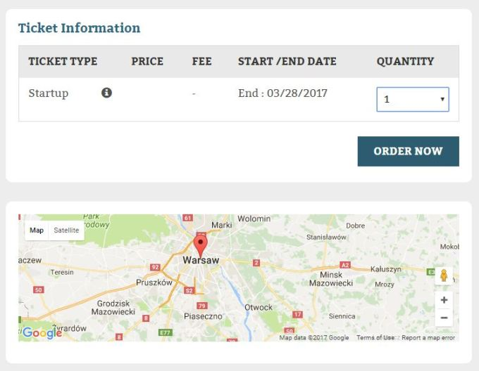 add ons in maps and tickets