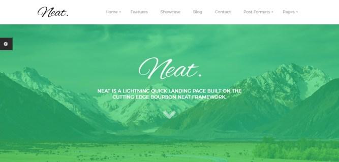 Homepage Neat