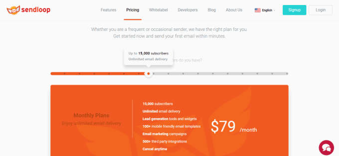 Email Marketing Plans and Pricing Sendloop