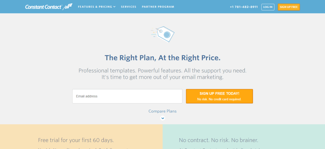 Email Marketing Software Constant Contact Pricing