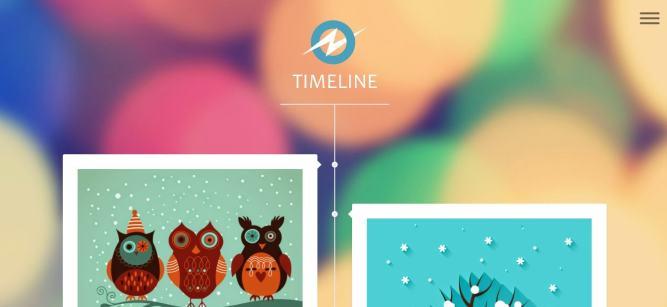 TimeLine blogger templates