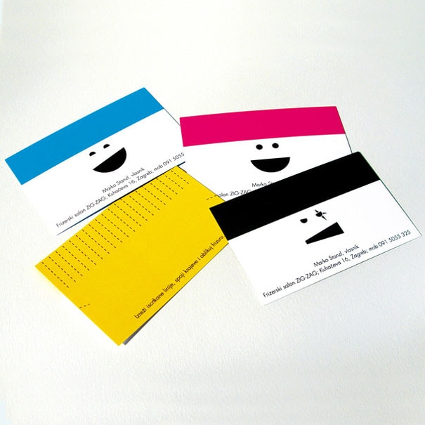6 Hair Dresser Business Card 1