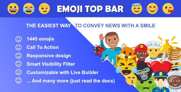 Emoji Top Bar