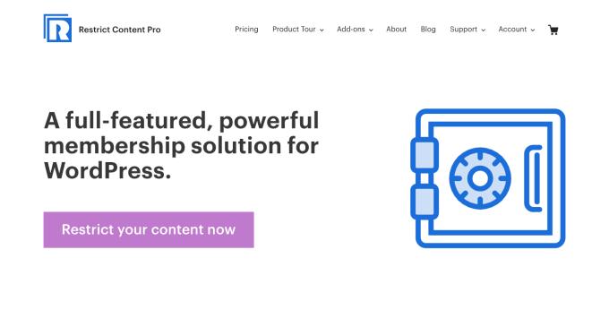 Restrict Content Pro Membership Plugin