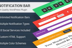 WP Notification Bar Pro