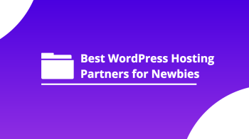 best wp hosting partners for newbies
