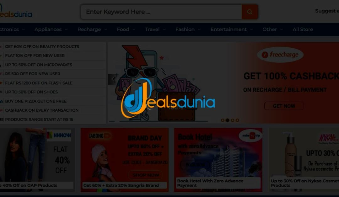 Looking for online coupons – Dealsdunia has got them all