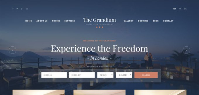 grandium theme wordpress