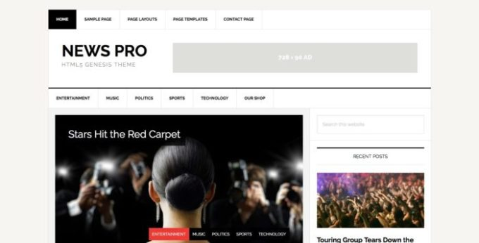 news pro seo ready theme