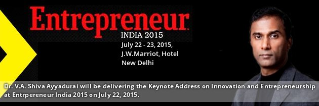 Dr. V.A. Shiva Ayyadurai Inventor Of Email And Systems Scientist Entrepreneur India 2015