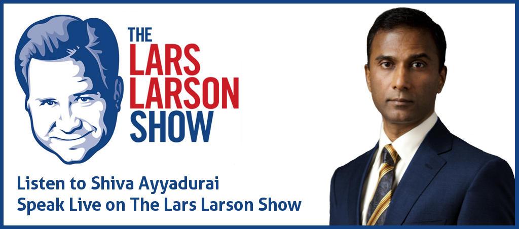 Listen To Shiva Ayyadurai Speak Live On The Lars Larson Show