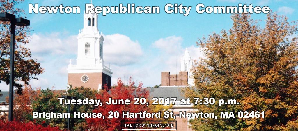 Shiva Ayyadurai Speaks At Newton Republican City Committee Meeting