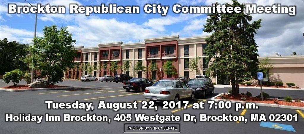 Dr. Shiva Ayyadurai Speaks At Brockton Republican City Committee Meeting