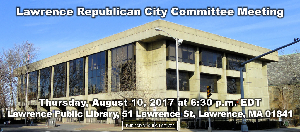 Dr. Shiva Ayyadurai At Lawrence Republican City Committee Meeting