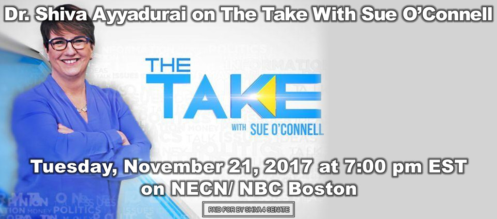 Dr. Shiva Ayyadurai Live On The Take With Sue O'Connell – November 21, 2017