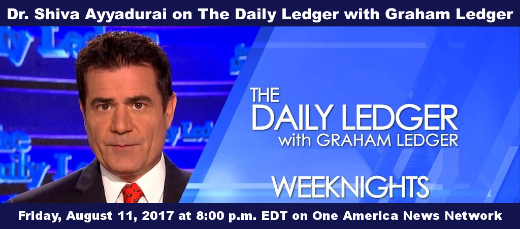 Dr. Shiva Ayyadurai On The Daily Ledger With Graham Ledger