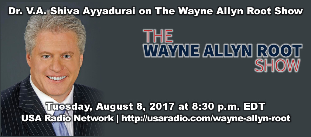 Podcast Of Dr. Shiva Ayyadurai On The Wayne Allyn Root Show