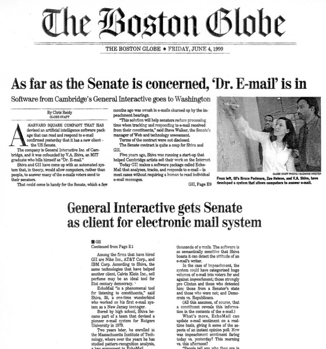 As Far As The Senate Is Concerned, 'Dr.Email' Is In