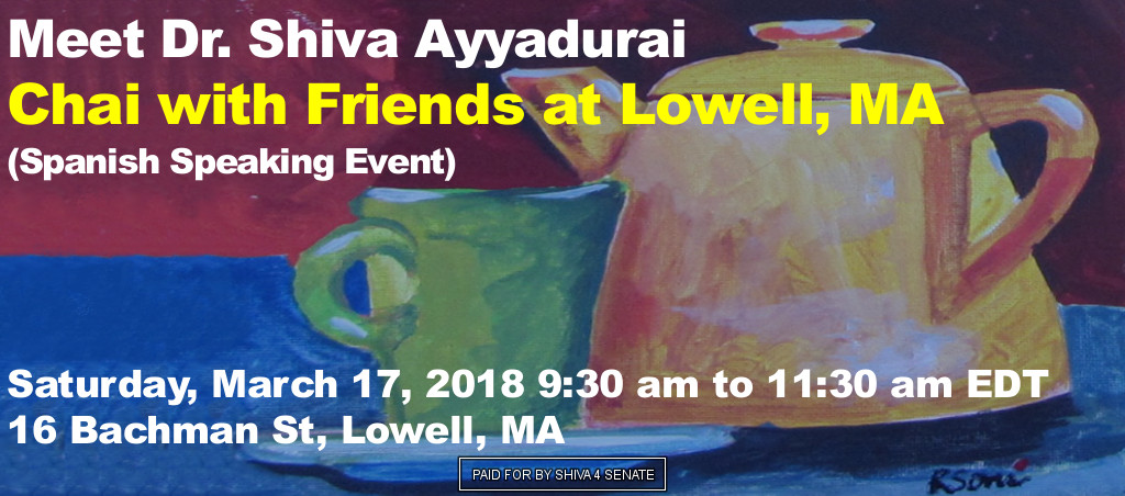 Chai With Friends At Lowell, MA (Spanish Speaking Event)