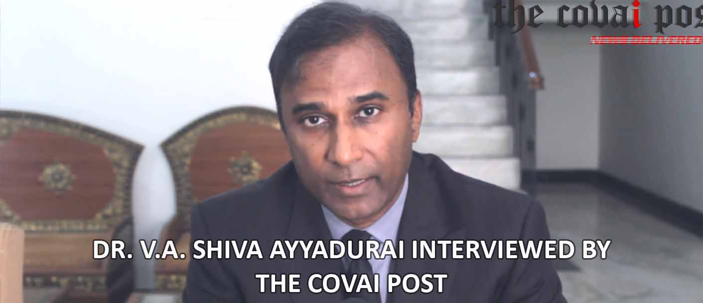 Dr. V.A. Shiva Ayyadurai Interviewed By The Covai Post